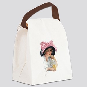 PINK DELIGHT Canvas Lunch Bag