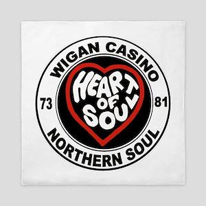 Retro wigan Casino mod northern soul Queen Duvet