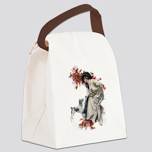 American Belles011 Canvas Lunch Bag