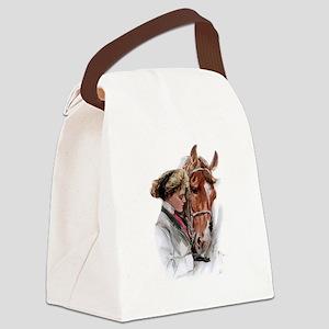 fair americans horse Canvas Lunch Bag