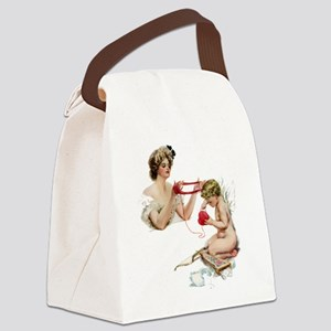 fisher_WAITING ON LOVE2_SQ Canvas Lunch Bag