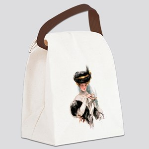 FISHER _TEA TIME-2 Canvas Lunch Bag