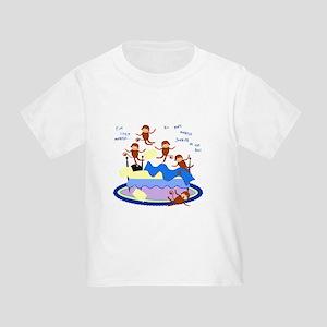 Five little Monkeys... Toddler T-Shirt