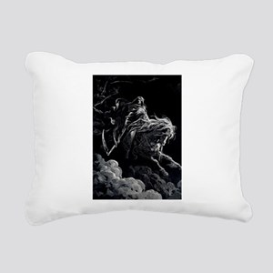 death_14 Rectangular Canvas Pillow
