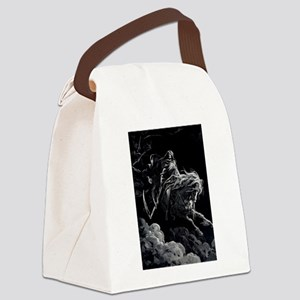 death_14 Canvas Lunch Bag