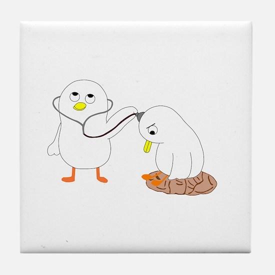 Psychiatrist Tile Coaster