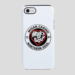 Retro wigan Casino mod norther iPhone 7 Tough Case