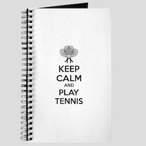 Keep calm and play tennis Journal