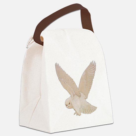 owl2_SQ_NEW copy.png Canvas Lunch Bag