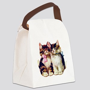 Kittens001 Canvas Lunch Bag