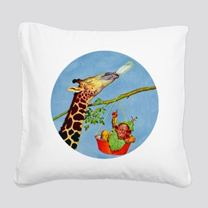Lawson Woods_TILE BABY GIRAFFE Square Canvas P