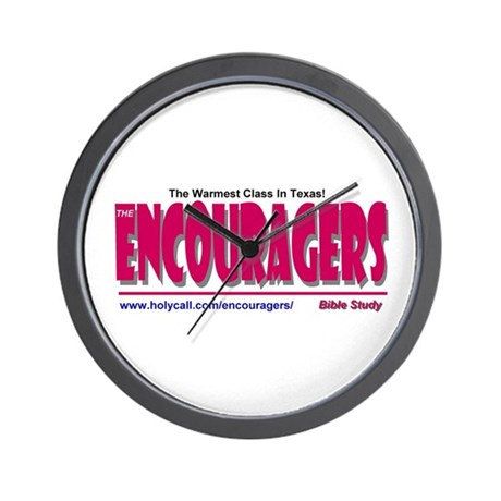 Encouragers Wall Clock