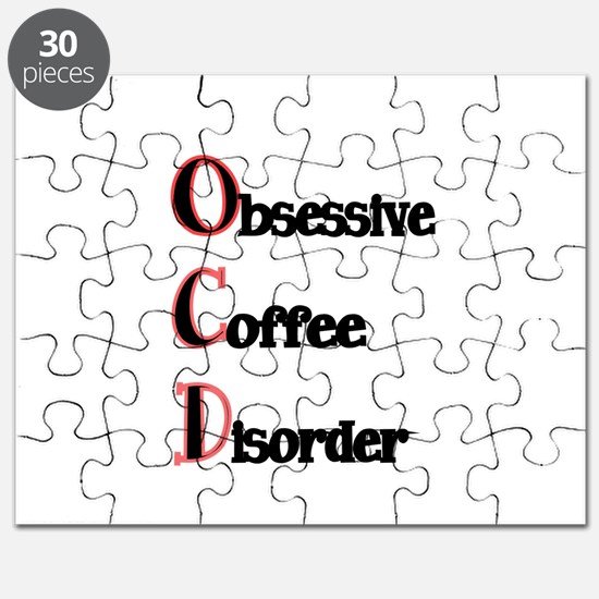 OCD-Obsessive Coffee Disorder Puzzle