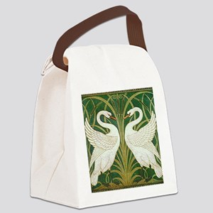 SWANS_GREEN Canvas Lunch Bag