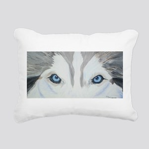 nicoeyespaint Rectangular Canvas Pillow