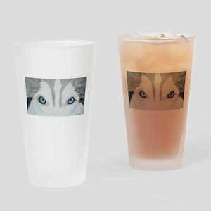 nicoeyespaint Drinking Glass