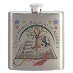 2013 GHRA World Show Logo Flask