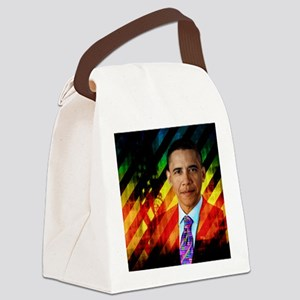 Post Urban Obama Canvas Lunch Bag