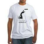 Kokopelli Diver Fitted T-Shirt