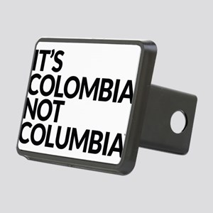 IT'S COLOMBIA NOT COLUMBIA Rectangular Hitch Cover