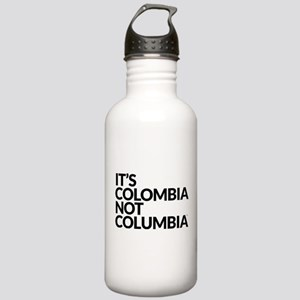 IT'S COLOMBIA NOT COLUMBIA Stainless Water Bottle