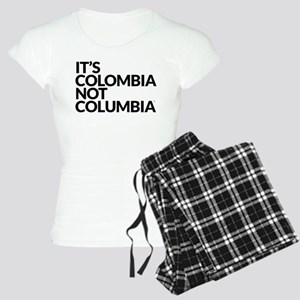 IT'S COLOMBIA NOT COLUMBIA Women's Light Pajamas
