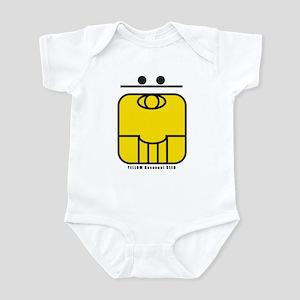 YELLOW Resonant SEED Infant Bodysuit