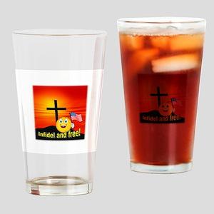 Proud Christian Drinking Glass