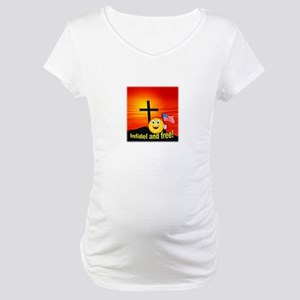 Proud Christian Maternity T-Shirt
