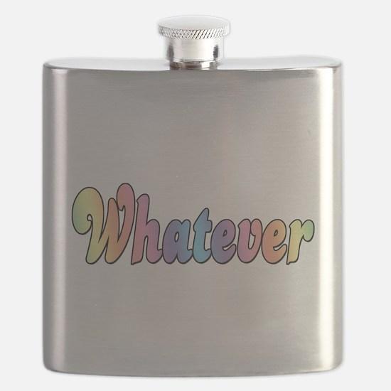 Rainbow Whatever Flask