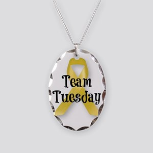 Team Tuesday Ribbon Necklace