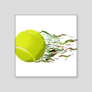 Tennis Ball Flames Artistic US Open Wimbleton Stic