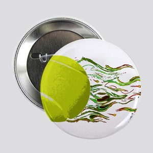 Tennis Ball Flames Artistic US Open Wimbleton 2.25