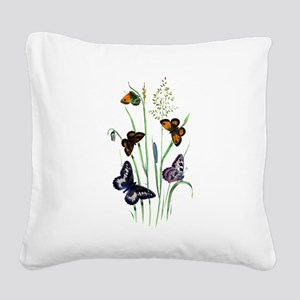 Butterfly 29 Square Canvas Pillow