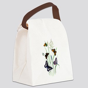 Butterfly 29 Canvas Lunch Bag