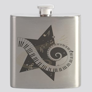 Musical star Flask