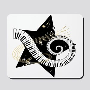Musical star Mousepad