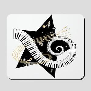 Musical star Mousepad