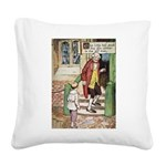 The Tin Soldier Square Canvas Pillow