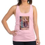 The Girl Who Trod on the Loaf Racerback Tank T