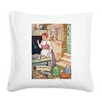 The Steadfast Tin Soldier Square Canvas Pillow