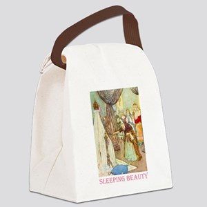 Sleeping Beauty_PINK Canvas Lunch Bag