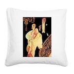 Lyendecker 1 Square Canvas Pillow