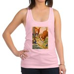 Tennie Weenies085 Racerback Tank Top