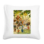 Tennie Weenies081 Square Canvas Pillow