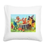 Thiele Cat_60_46 Square Canvas Pillow