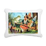 Thiele Cat_60_44 Rectangular Canvas Pillow