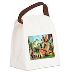Thiele Cat_60_44 Canvas Lunch Bag