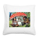 Thiele Cat_60_45 Square Canvas Pillow