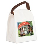 Thiele Cat_60_45 Canvas Lunch Bag